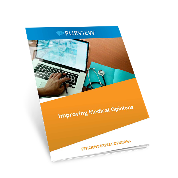 A Purview Whitepaper - Improving Medical Opinions - Cover