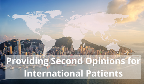 provide remote second opinions to international patients